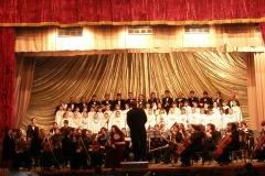 С Молодежным Симфоническим оркестром, дирижер С.Йовса