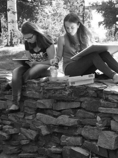 Фото Дарьи Чмировой, студентки 1-го курса кафедры художественной фотографии