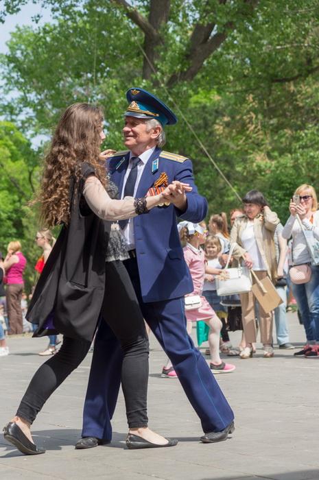 Коллективы Академии на праздновании 9 Мая 2018